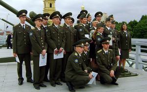 Офицеры российской армии