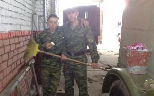Опрятность в армии
