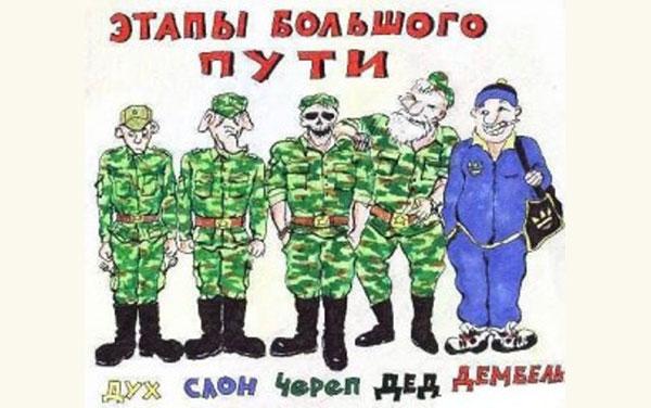 Иерархия в российской армии