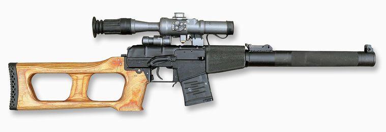Снайперская винтовка Винторез