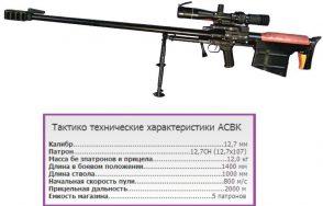 Снайперская винтовка АСВК