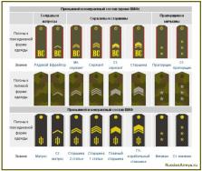 Рядовой состав в армии России