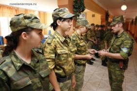 Армейские будни в женской роте