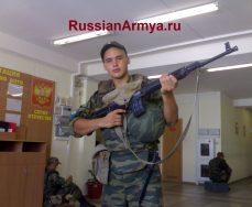 Солдат в армии в 2018 году