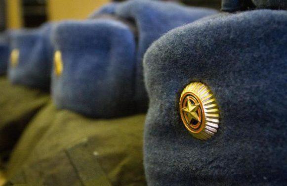 Чипок в армии