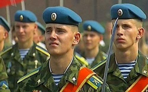 Личный состав армии РФ